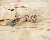 Silver Tone Turquoise Moroccan Dreadlock Accessory