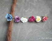 Antiques Brass Rose Collection Flower Dreadlock Accessory