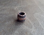 Copper Studded Dreadlock Bead