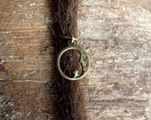 Antiques Brass Moon & Star Dreadlock Accessory