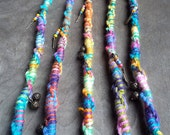 1 Twisted Clip In or Braid In Bohemian Charm Hair Wrap  Extension