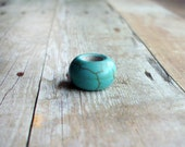 Turquoise Dreadlock Bead