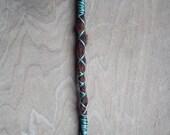 1 Custom Clip In or Braid In Hair Wrap Dreadlock Extension Standard Synthetic Hair Boho Dread Messy Criss Cross Wrap