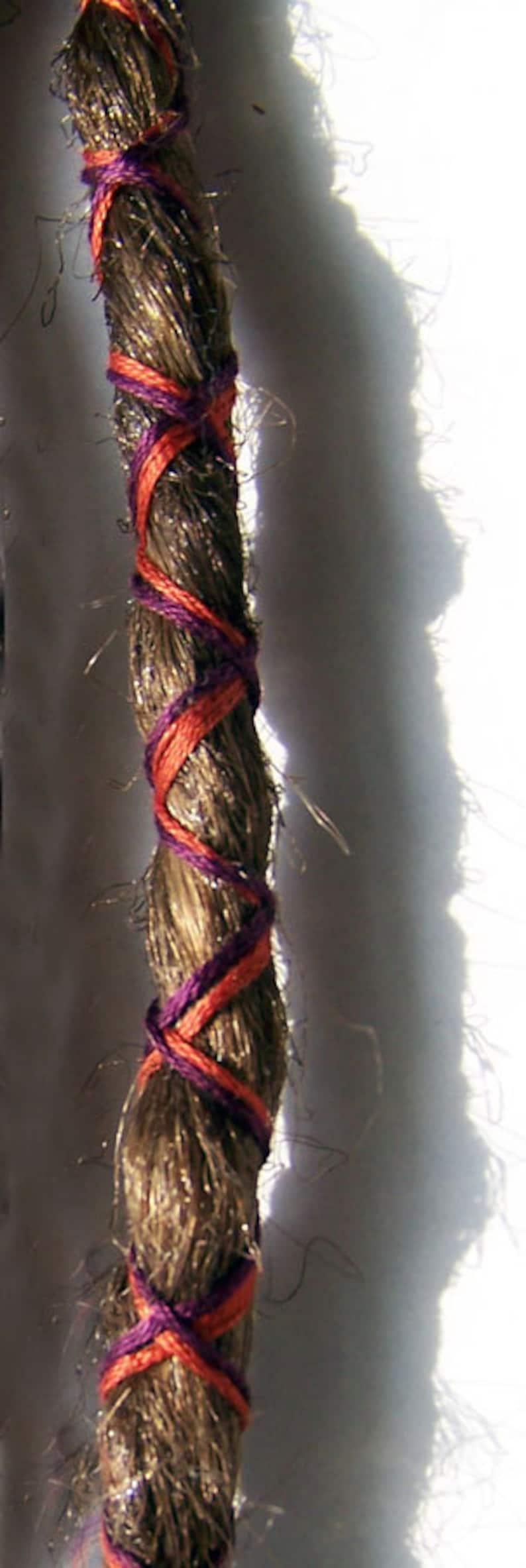 1 Custom Clip In or Braid In Dreadlock Extension Standard image 0