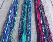 1 Multi-Material Clip In or Braid In Extension Bohemian Fiber Hair Festival Extensions (#'s 29, 30, 31)