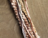 1 Multi-Material Clip In or Braid In Extension Bohemian Fiber Hair Festival Extensions (Color 16)