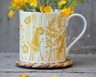 Summer Meadow UK Fine Bone China Mug
