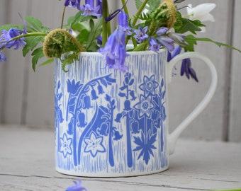Bluebell UK Fine Bone China Mug