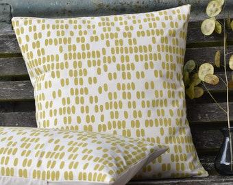 Mimosa Hand Printed Cushion