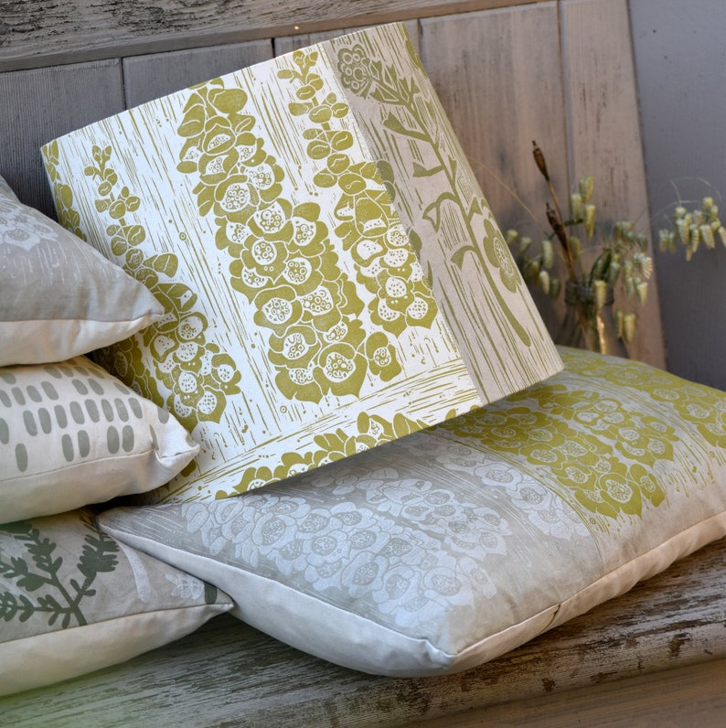 20% off Summer Meadow  Plant Dyed  Block Printed Patchwork image 0