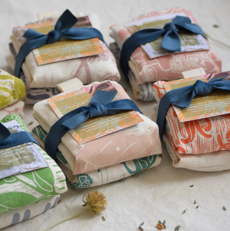 Twin Pack  Mini Wheat  Lavender Bags image 0