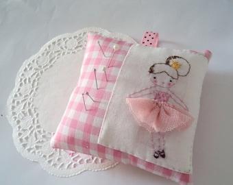 sweet pink pincushion ballerina pink tutu made to order
