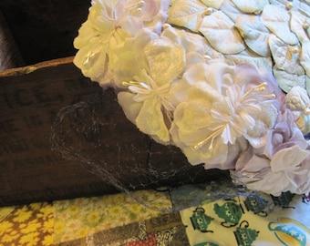 Beautiful Flowered Vintage Jane Morgan Hat in Lavender