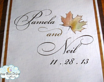 Aisle Runner, Wedding Aisle Runner, Custom Aisle Runner, Fall Wedding, Quality Fabric Aisle Runner that Won't Rip or Tear