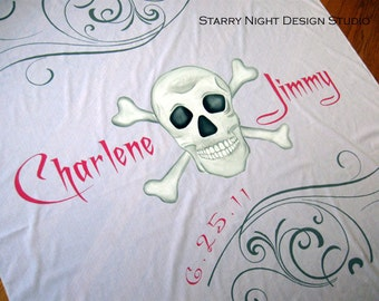Aisle Runner, Wedding Aisle Runner, Custom Wedding Aisle Runner, Pirate Theme Wedding, Quality Aisle Runner Won't Rip or Tear