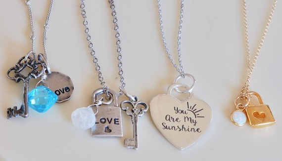 Key to My Heart Necklace Collection