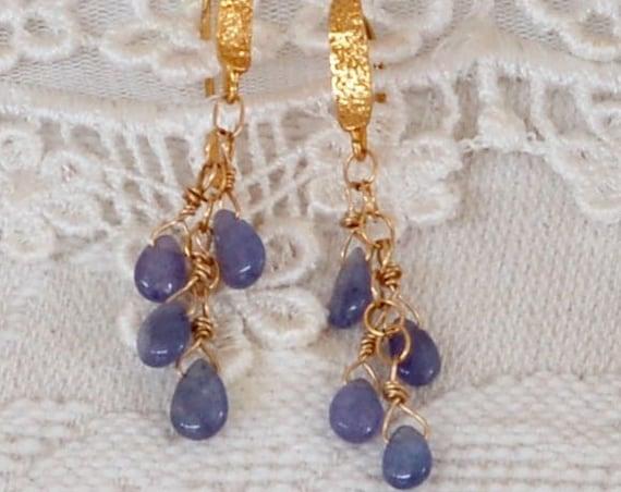 Tantalizing Tanzanite Earrings