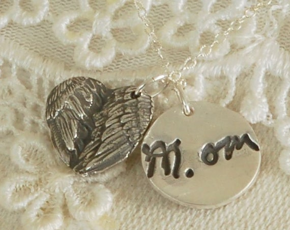 Sister Gift - Meaningful Gift -Gift for grandma - Mom Gift - Gift for Mom - Silver Jewelry - Personalized Jewelry - custom gift for her