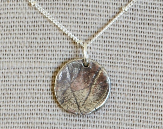 Baby Palm Print - Fingerprint Jewelry - Hospice Keepsake Necklace