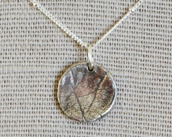 Baby Palm Print - Fingerprint Jewelry - Hospice Keepsake Necklace