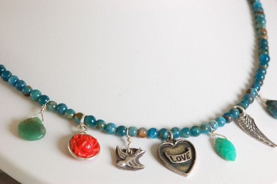 Swept Away Love Necklace