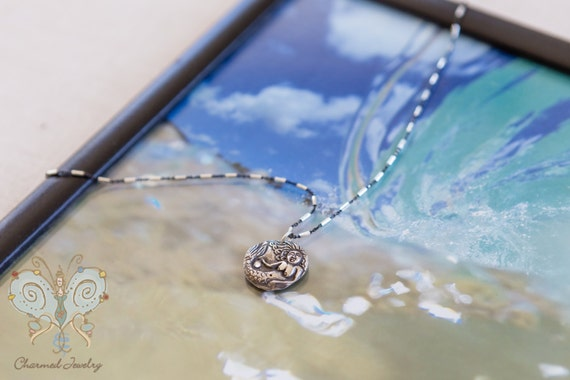 Holding a Wish Mermaid Necklace