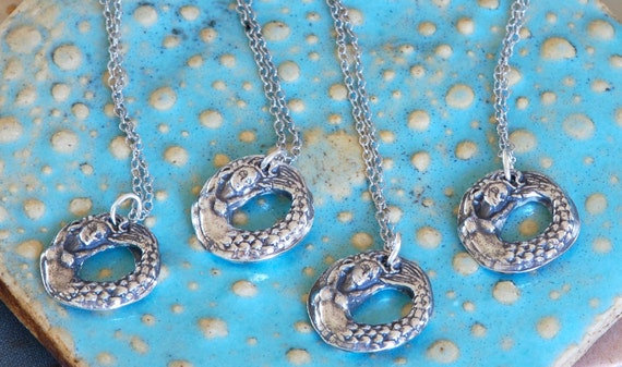 Gift of the Sea Mermaid Necklace - Set of 4