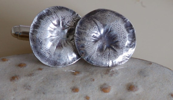 Sealed With A Kiss - Fingerprint Jewelry - Cufflinks