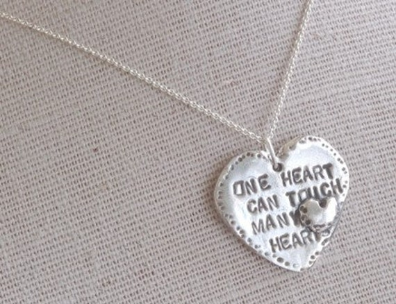 One Heart Necklace