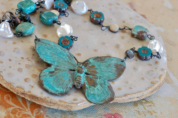 Seaside Butterfly Necklace
