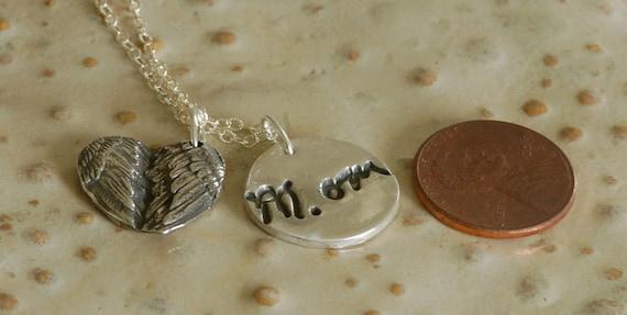 Valentine Gift Script Custom made Necklace