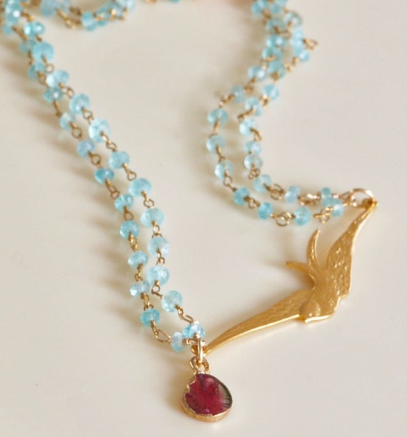 The Soaring Swallow Necklace