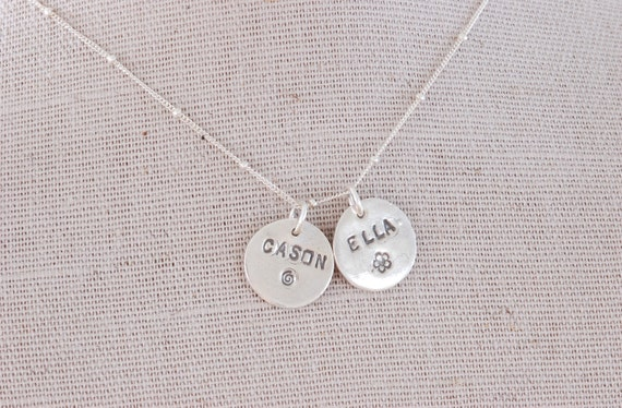 Family Name Charm Necklace