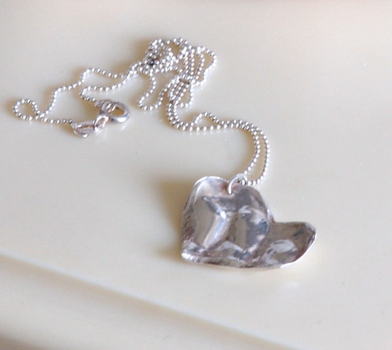 Finger Impression - Newborn Fingers and Toes in Keepsake Heart Charm