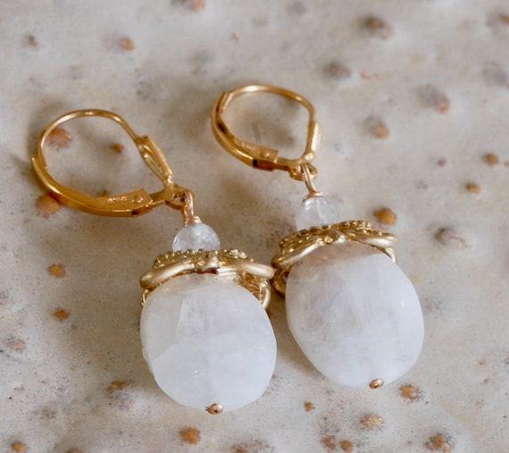 Magical Moonstone Earrings