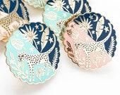 Rainforest Hard Enamel Pin, 2019 Limited Edition, Leopard Jewellery, Cat Pin