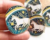 Totally Magic Hard Enamel Pin Badge, 2019 Limited Edition, unicorn pin, rainbow pin