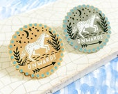 Onwards Enamel Pin Badge, Horse Enamel Pin, Lapel Pin, Equine Jewellery, Horse Jewellery