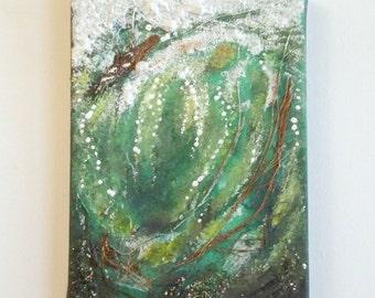 Quadro su vetro quadro moderno surf onda surfer oceano onda surf