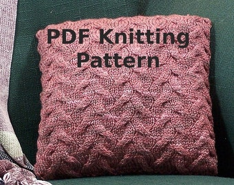 Pattern - Cinnamon Twist Pillow
