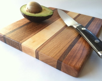 Small but Stout HERB and GARLIC Cutting Board