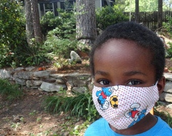 3 for 34 Kids' Face Masks BACK TO SCHOOL Children Face Mask Kids's Washable Face Masks 3 ct. Set Kids Face Masks  Face Masks Assorted Masks