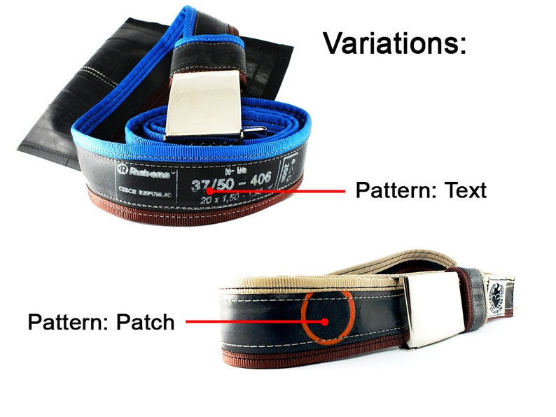 TIRE tyre BELT for CYCLIST bicycle men women him her accessory bike biketube cycling ride gift present commuter comfortable durable everyday