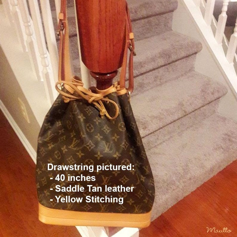 7c2daa94b76e Louis Vuitton LV Drawstring Replacement for Noe Bucket Bags
