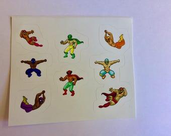 Lucha Adore - Sticker