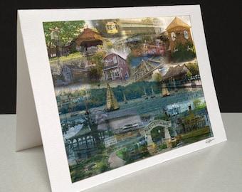 The Big Lake 5 x 7 Greeting Card - Lake Minnetonka, Minnetonka, MN