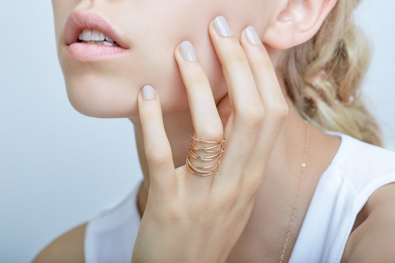 Infinity Gold Wrap Ring image 0