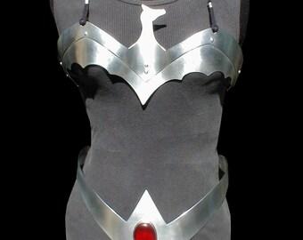 Wonder Woman Dark Dragon breast plate and belt