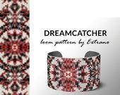Bead Loom Pattern, Loom Tutorial, Beading Pattern, Loom Beading Pattern  for bracelet, Bracelet Pattern, Loom Pattern,  DREAMCATCHER