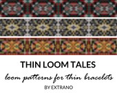 Loom bracelet patterns, thin bracelet patterns, loom stitch, loom pattern, native american pattern, thin loom bracelet - THIN TALES